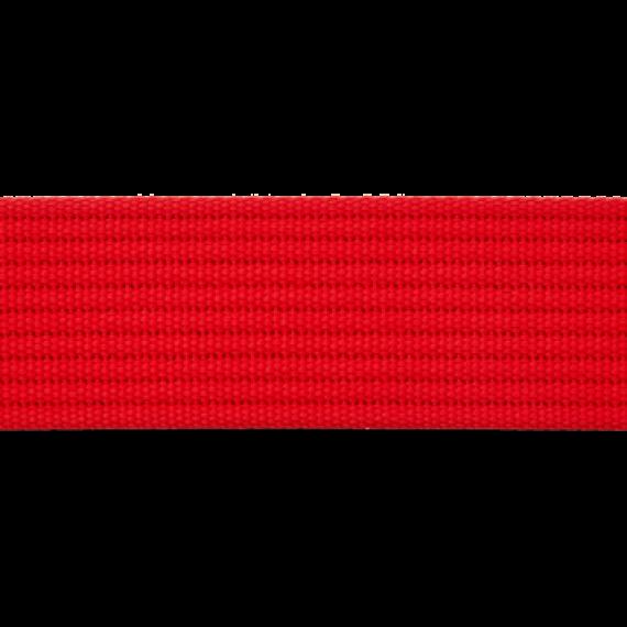Gurtband 40mm breit - rot