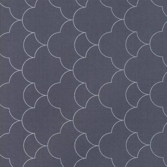 """Mist"" outer space - Thrive - Moda Fabrics"