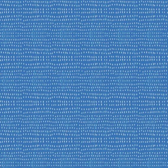 Quarter 49cmx56cm - Blend - blau-weisser Baumwollstoff