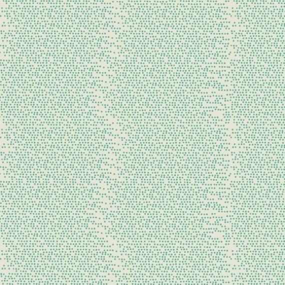 Blend - kleine Pünktchenreihen türkis-weiß