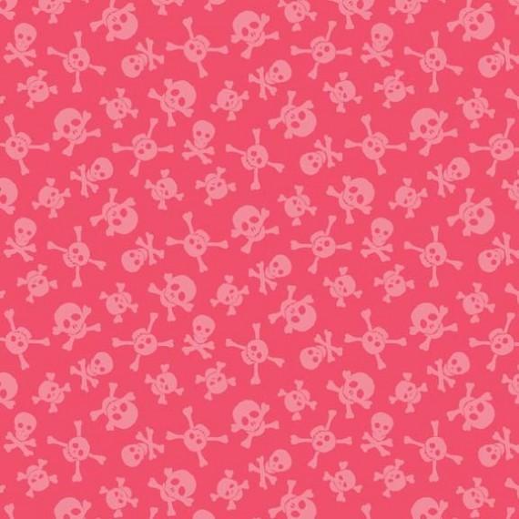 Makower - Skulls pink