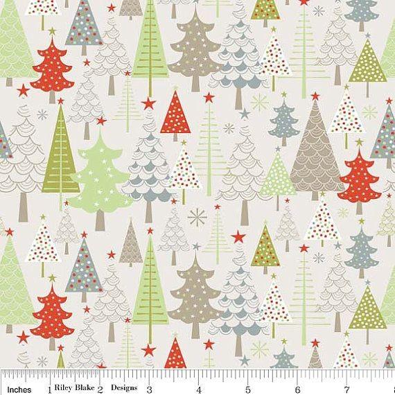 """Riley Blake """"My Little Christmas"""" - Weihnachtsbäumchen"""