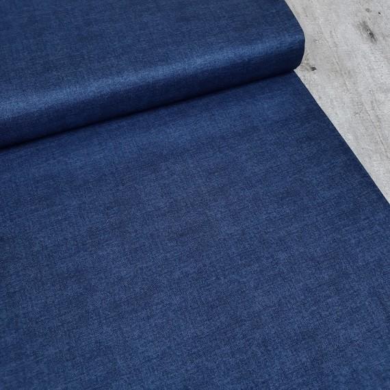 Makower - Linen Texture - bluestone