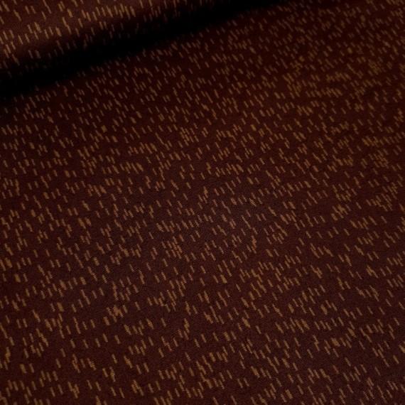 "Windham Fabrics ""Bear Camp"" - Sprinkle braun"