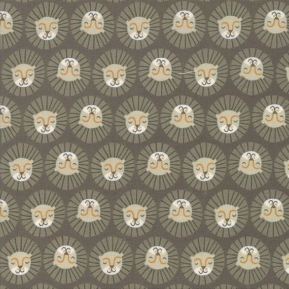 "Moda ""Safari Life"" - The lions head - grey"