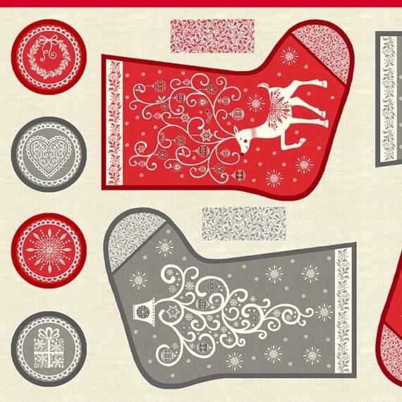Makower - Scandi Stockings