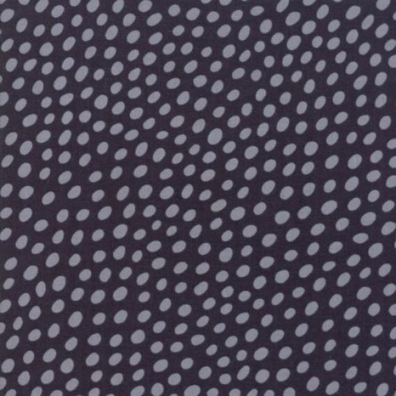 """Dots"" anthrazit - Wild and Free - Moda Fabrics"