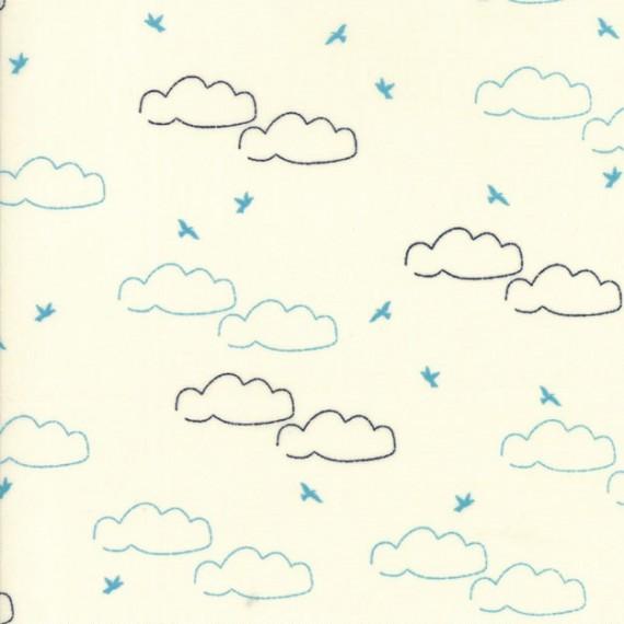 """Daydream"" ivory - Creekside - Moda Fabrics"