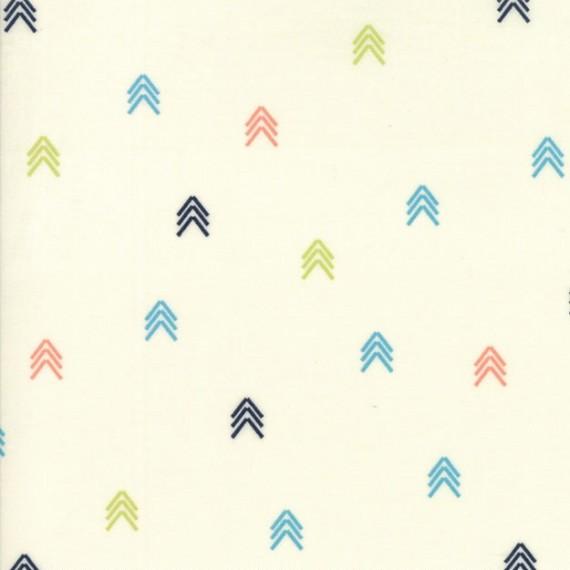 """Compass"" ivory - Creekside - Moda Fabrics"