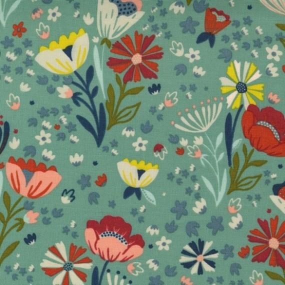 Posie Pocket, deep waters - Songbook - Moda Fabrics