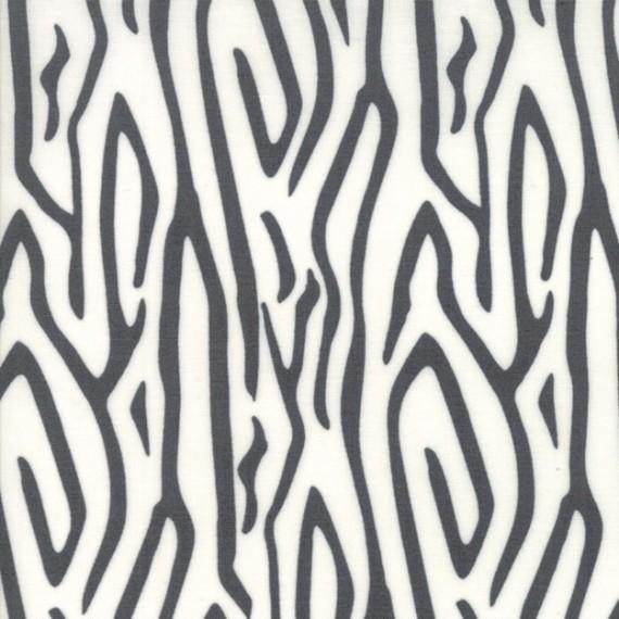 """Moda """"Savannah"""" von Gingiber - Zebra Stripe - charcoal"""