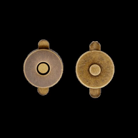 Magnetverschluß 18mm - altgold