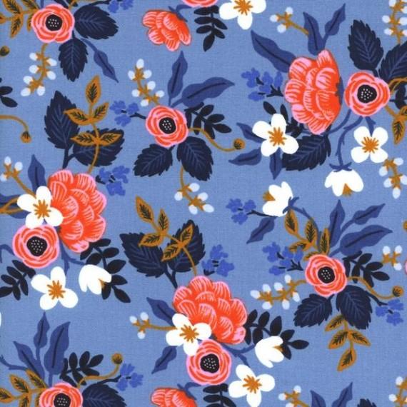 Cotton and Steel - Rifle Paper Co. - Les Fleurs