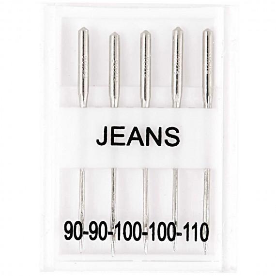 Nähmaschinennadeln Jeans