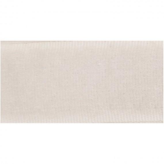Klettband zum Annähen - weiß