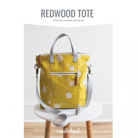 Noodlehead Schnittmuster - Redwood Tote Pattern