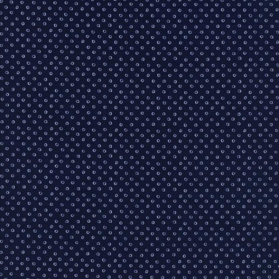 Cotton and Steel - Bluebird - Shibori navy