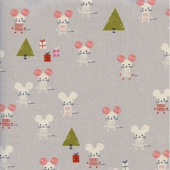Cotton and Steel - Frost - Little Friends - christmas