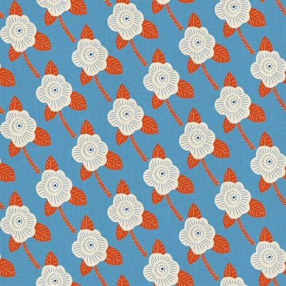 Cotton and Steel - Kibori - Chico - blue