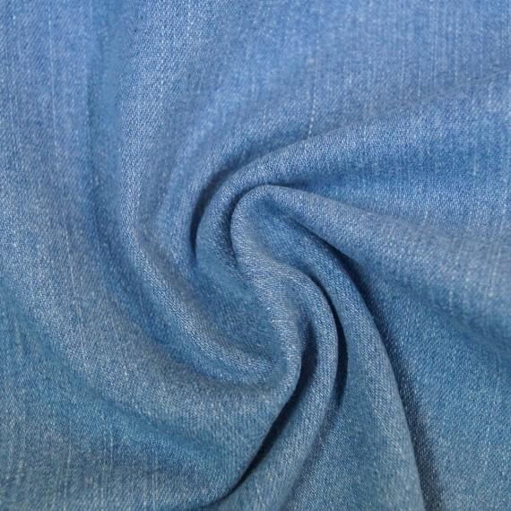 Jeans indigo gebleicht