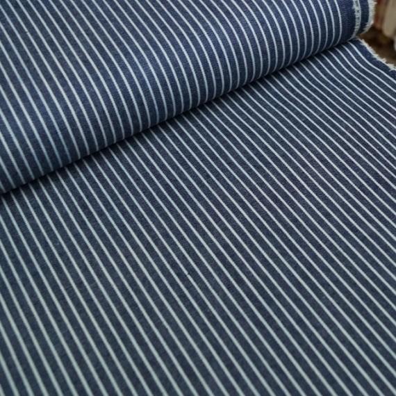 """Sommerjeans """"Stripe"""" - dunkelblau"""