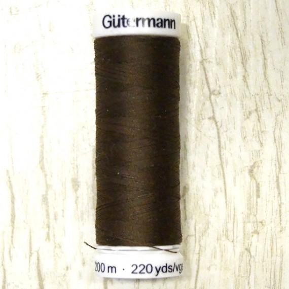 Gütermann Allesnäher Garn 200m col. 694 dunkelbraun3