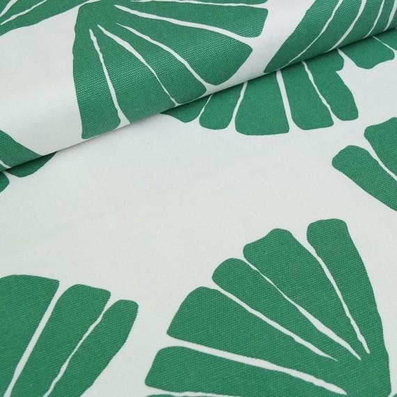 Canvas Aloha grün-weiß