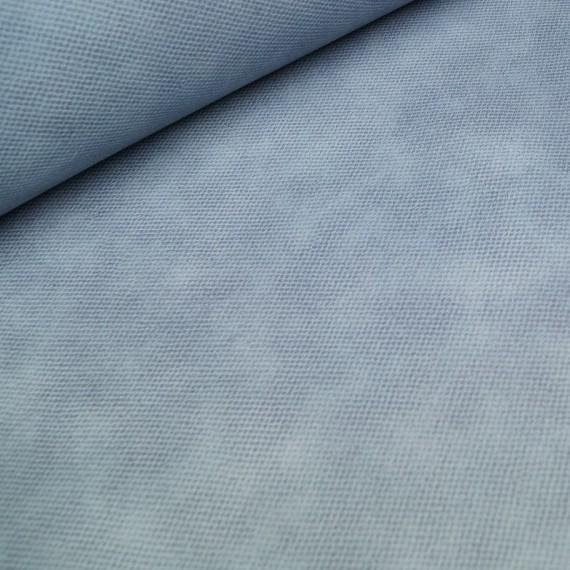 Kunstleder / Dekostoff - dusty blue
