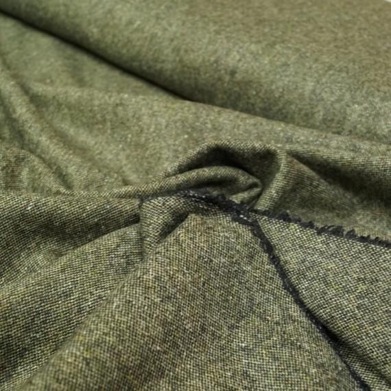 Hilco Woll Tweed Cardiff in grün