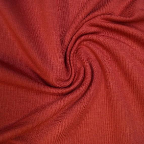 Modal Sweat uni - terracotta