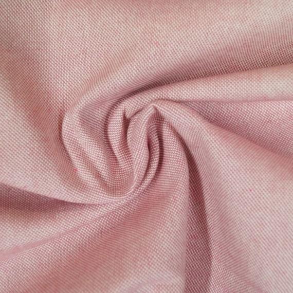 Melierter Canvas / Taschenstoff rosa