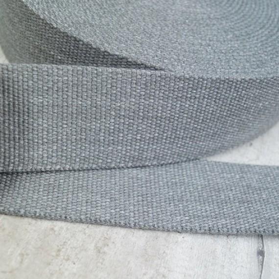 Meliertes Gurtband 40mm breit - beige
