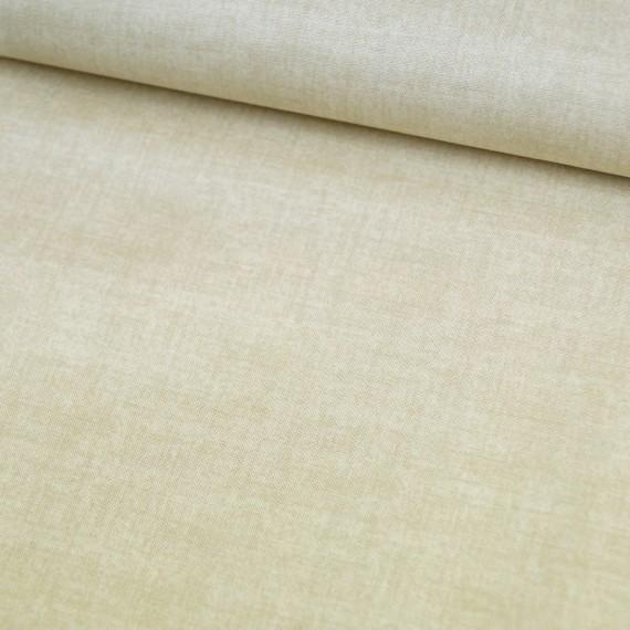 Makower - Linen Texture - straw -  beige