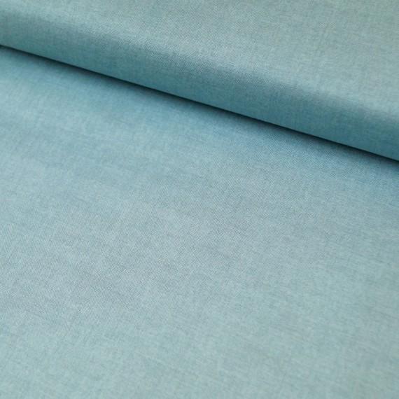Makower - Linen Texture- duck egg