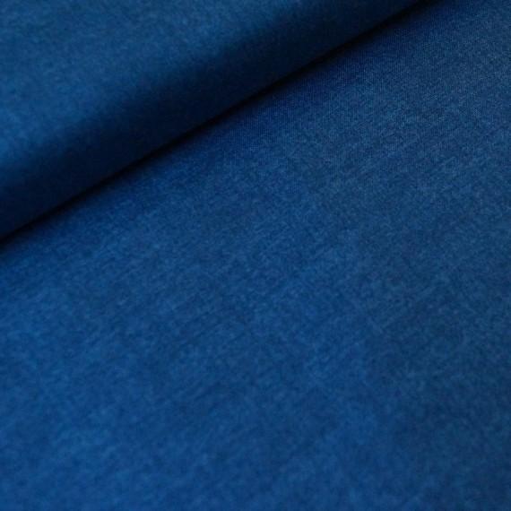 Makower - Linen Texture- marine blau