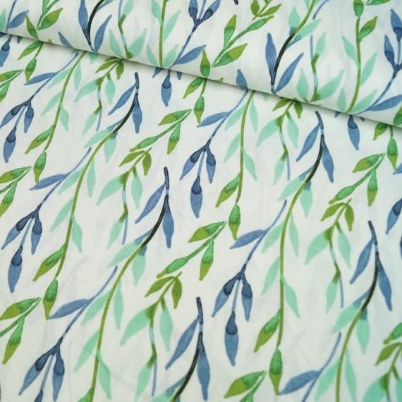 3 Wishes Fabrics - Vine - Charisma