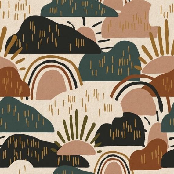 Cotton+Steel Canvas - Hilltop - Dear Isla