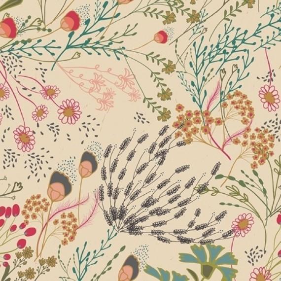 Art Gallery - Indie Folk - Meadow dim - ecru