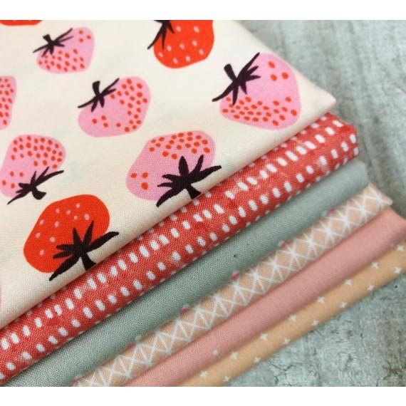 Stoffpaket Strawberry