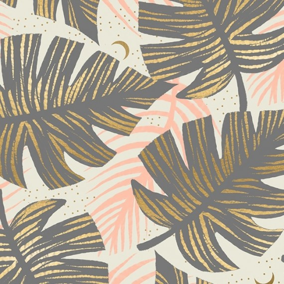 Florida - Ruby Star Society - Shade Palms - slate gray metallic