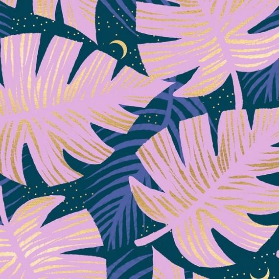 Florida - Ruby Star Society - Shade Palms - peacock metallic
