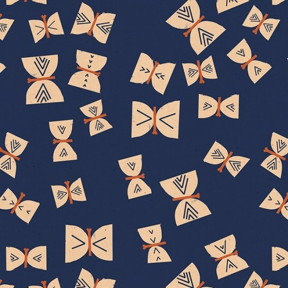 Butterflies - Ruby Star Society - indigo