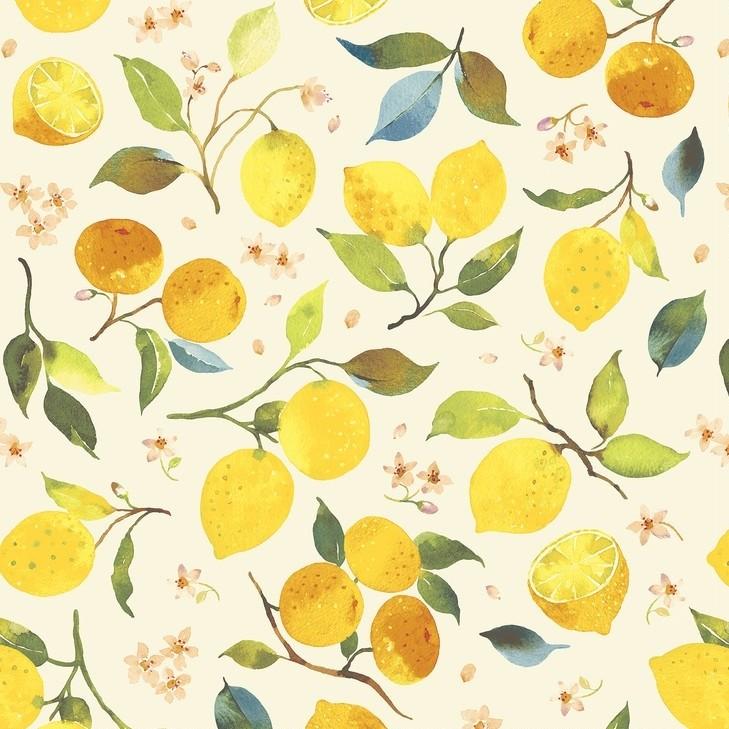 Quarter 49cmx56cm - Blend - Lemons