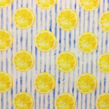3 Wishes Fabrics - Lemons