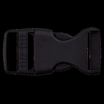 Rucksackschnalle schwarz 30mm