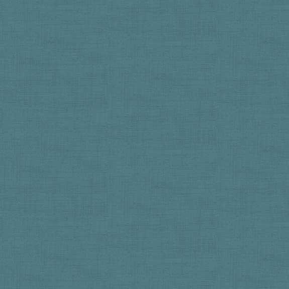 Makower - Linen Texture - mineral (petrol)