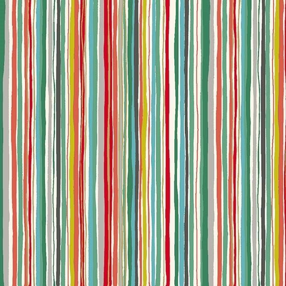 Makower - X-Mas Wavy Stripe