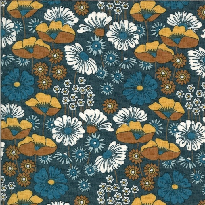 """Cortland"" - Blueberry Buckle - Moda Fabrics"