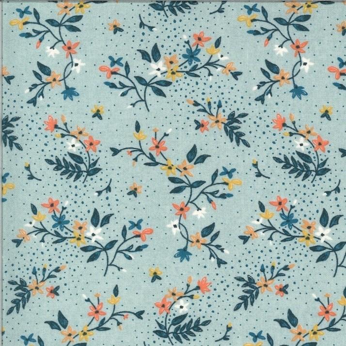 """Spiced Latte"" - Blueberry Crumble - Moda Fabrics"
