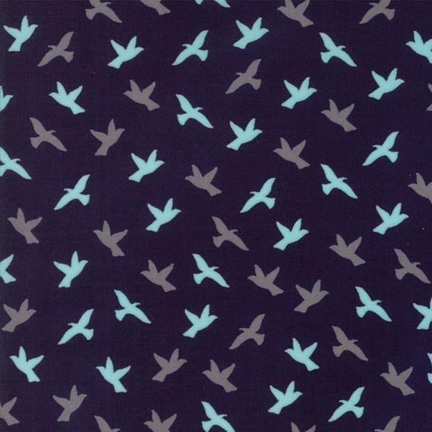 """Soar"" midnight - Creekside - Moda Fabrics"